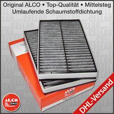 ALCO BMW 5er E60 E61 Set PREMIUM Innenraumfilter Mikrofilter Aktivkohle
