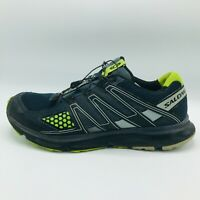 Salomon XR Mission 1 Running Trail Sneakers Shoes Gray Green Mens US Size 14