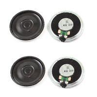 3W 4 Ohm Metal Housing Round Internal Magnet Speaker Loudspeaker 4Pcs M6Q9