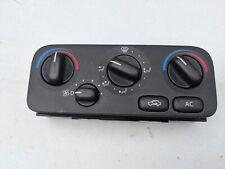 9171443 Volvo S70 Manual Climate Control Unit, Hvac Heater Control Panel