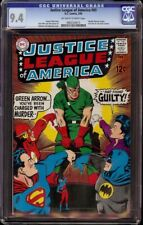 Justice League of America # 69 CGC 9.4 OW/W (DC, 1969) Wonder Woman resigns