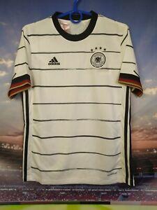Germany Jersey 2020 Home Kids Boys 11-12 Shirt Adidas EH6103