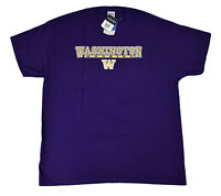 OVB Mens NCAA Washington Huskies Football Shirt NWT L