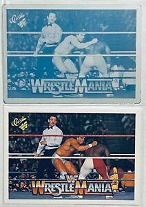 1/1 RICK MARTEL VS KOKO 1990 CLASSIC WWF CARD #116 PRINTING PLATE WRESTLEMANIA