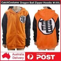 Dragon Ball Z Goku Gohan Hoodie Sweatshirt Jumper Jacket Anime Cosplay Costume