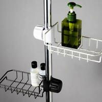 Kitchen Sink Faucet Sponge Soap Cloth Drain Rack Storage Shelf Durable V0W3