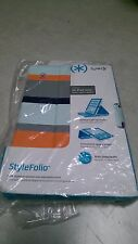 Speck Products Stylefolio Case and Stand for iPad Mini, Cabana Stripe/Cayman