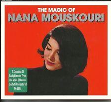 THE MAGIC OF NANA MOUSKOURI - 2 CD BOX SET - THE WHITE ROSE OF ATHENS & MORE