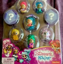 Fisher-Price Shimmer and Shine Teenie Genies Series 2 New 8-Pack Back Missing