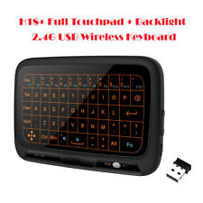 H18+ Touchpad 2.4G USB Air Mouse Sensor Backlit Keyboard Keypad Remote Control