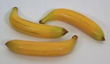 designer deko zwei (2) künstliche faux fake banana fruit