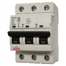 32AMP - 3 Pole 10ka MCB - Circuit Breaker - D Curve Free Shipping
