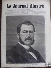 LE JOURNAL ILLUSTRE 1877 N 49 M. LEON RENAULD, DEPUTE