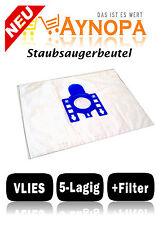 10 Staubsaugerbeutel für Miele S 8310,Electronic 8300,S 8330,S 8530,S8330,S 8930