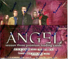 Inkworks Angel Season 3 Trading Card Factory Box (36 packs)