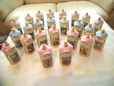 Disney Spice Jar 24 Piece Full Set Lenox 1995. Autumn, Christmas, Birthday Gift