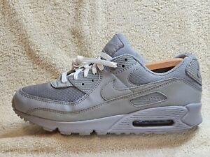 Nike Air Max 90 mens trainers Wolf Grey UK 10 EUR 45 US 11