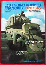 LIVRE LES ENGINS BLINDES FRANÇAIS 1920 1945