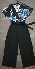 Lipsy Floral Jumpsuit Size 8 **New with tags**