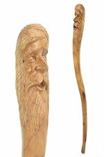 Man of the woods walking stick / cane / staff Hand carved from Jempinis Hardwood