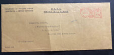 1950 Canadian Army PO 5051 In England Meter Cancel OHMs Cover To CAPO 5056