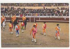 Corrida De Toros El Paseo Spain Vintage Postcard 466a