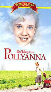 WALT DISNEY POLLYANNA VALUT COLLECTION (VHS CLAMSHELL) EXCELLENT