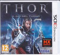 Nintendo 2DS~ 3DS « Thor ~ Die Gott Der Tuono » Neu Versiegelt Italienisch Pal