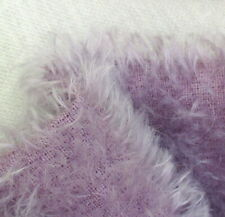 Purple hand dyed 12mm sparse mohair fur.  Perfect for medium to small bears