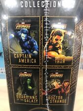 AVENGERS OFFICIAL INFINITY WAR 4 SET BOOK , BONUS STORY, HEROES JOURNEY ,THOR 1