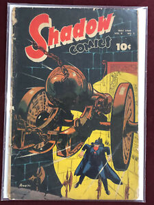SHADOW COMICS V9 #2 Professionally Graded GD 2.0 1949