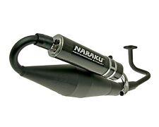 Exhaust Sport Naraku Crossover Black Baotian bt49qt China Gy6 4 stroke 50