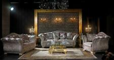 Klassische Sofagarnitur 2+1 Barock Rokoko Antik Stil Sofa Couch Couchen SB52 Neu