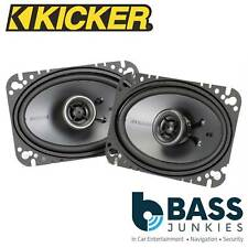 """KICKER KSC464 2 Way 4x6"""" inch 150 Watts a Pair Car Van Door Dash Shelf Speakers"""