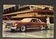 1978 Chrysler Cordoba Postcard Brochure Excellent Original 78