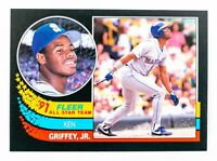 Ken Griffey Jr. #7 (1991 Fleer) All-Star Team, Seattle Mariners, HOF