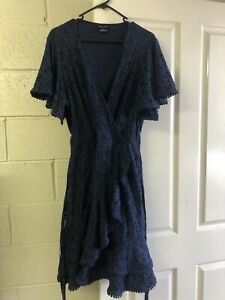 City Chic Sweet Love Lace Dress Size XS