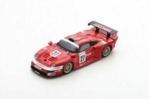 S5604 Spark: 1/43 Porsche 911 GT1 #27 8th 24H Le Mans 1997 C. Pescatori-Martini