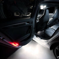 2 ampoules à LED  Blanc  Lumière éclairage Bas de porte pour Audi  A6 C5 C6  C7