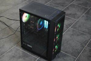 Desktop AMD Ryzen 7 3700x PC, 16GB RAM, 500GB NVME, 1TB HDD, GPU, WINDOWS 10