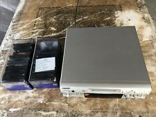 Sony MiniDisc Recording Deck MDS-S707 Used - NO REMOTE with 35 minidiscs