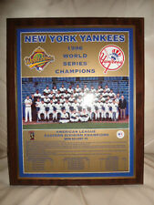 New York Yankees 1996 World Series Champions Healy Style Wood Plaque withJeter