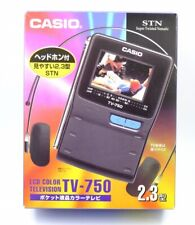 Pocket Vintage TV Casio TV-750 Retro. New