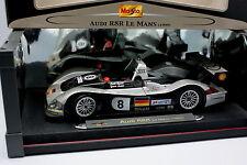 Maisto 1/18 - Audi R8R Le Mans 1999 No.8
