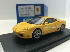 BBR Model 1/43 Ferrari 360 Modena Salone Di Ginevra 1999 Yellow Art. BBR131B