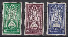 Irlanda 1937 San Patrizio alti valori SG 102-104 BELLE utilizzato.