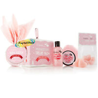 I Love Bath & Body Luxury Xmas Gift Set Strawberry Fizzer/Shower Cream/Butter
