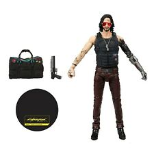 "McFarlane Toys Cyberpunk Johnny Silverhand Exclusive with Bag 7"" Action Figure"
