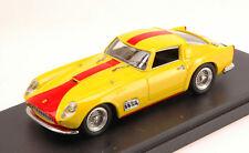 Ferrari 250 Gt Tdf Street 1958 Yellow w/ Red Stripes 1:43 Model BANG