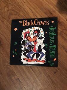 "The Black Crowes Jealous Again 7"" VINYL Def American Recordings 1990"